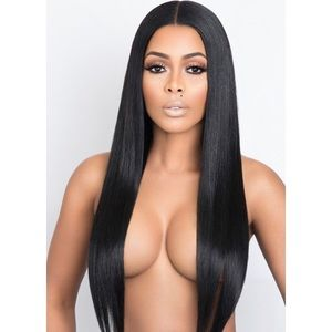 "Full Lace Wig "" Brazilian Straight """